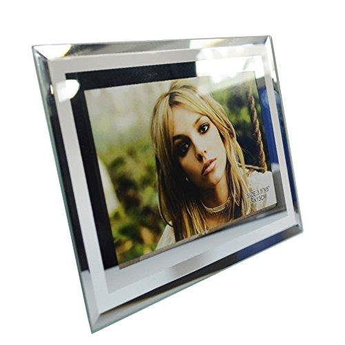 giftgarden 9x13cm glas bilderrahmen glasrahmen. Black Bedroom Furniture Sets. Home Design Ideas