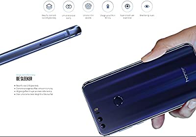 Huawei Honor 8 Android Phone - Android 6.0, Dual-IMEI, Octa-Core CPU, 4GB RAM, 1080p Display, 12MP Dual-Camera