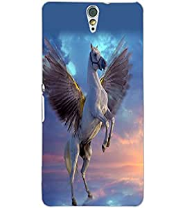 SONY XPERIA C5 FLYING HORSE Back Cover by PRINTSWAG
