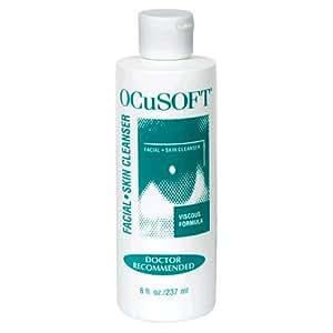 OCuSOFT Skin Cleanser, Facial, 8 fl oz (237 ml) (Pack of 3)