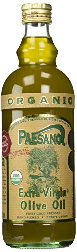 Paesano Organic Unfiltered Extra Virgin Olive Oil - 34oz
