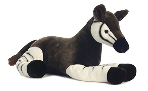 Okapi Lying Down<br>Stuffed Animal<br>Aurora World