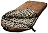 Grizzly +25 Degree Canvas Sleeping Bag (Tan)