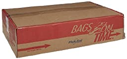 Flexsol HDL24BLK HDPE Loose Pack Waste Can Liner, 0.236 Mil, 24\