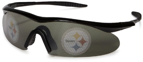 NFL Camovision EyeXtras Pittsburgh Steelers ANSI Rated UV Protection Sunglasses