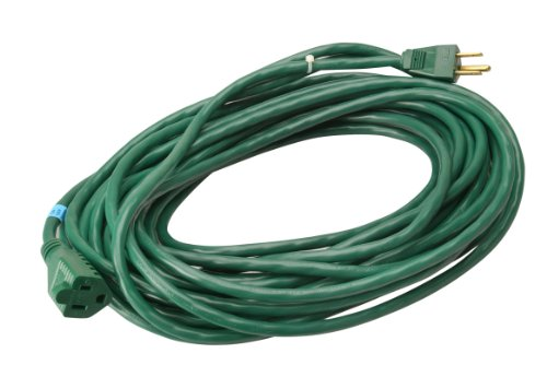 Woods 394 16/3 Outdoor SJTW Extension Cord, Green, 80-Foot (Coleman Spa Chemicals compare prices)