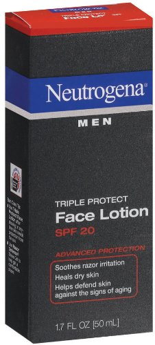 Neutrogena Neutrogena Triple Protect Face Lotion for Men, SPF 20, 1.7 Ounce (Pack of 2)