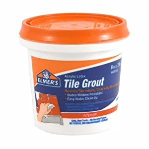 Elmer's E870 Tile Grout 1/2-Pint