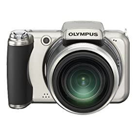 Olympus SP-800UZ 14MP Digital Camera with 30x Wide Angle Dual Image Stabilized Zoom and 3.0 inch LCD