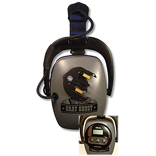 Detectorpro Gray Ghost Xp Headphones For Xp Deus Metal Detector