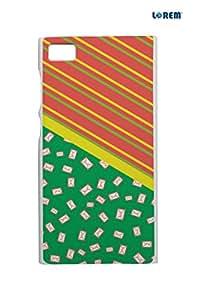 Lorem Back Cover For Xiaomi Mi3 -Multicolor-L15001