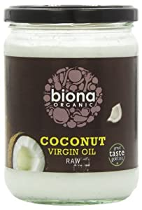 Biona Organic Coconut Oil 400 g (Pack of 2)