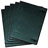 MegaKick DVD Leerhüllen mit Inlay-Möglichkeit (5pcs Pack/black)