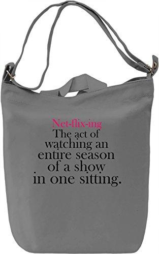 net-flix-ing-slogan-bolsa-de-mano-dia-canvas-day-bag-100-premium-cotton-canvas-dtg-printing-