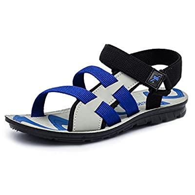 eprilla Men's Multi-Coloured Synthetic Leather Sandals