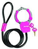 Master Lock 8275 Cuff Lock with Cable - One Size, Black