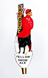 Rogue Ales Yellow Snow Sculpted Tap Handle