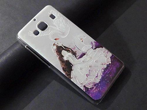 RJR Premium Printed AD Stone Work Hard Back Case Cover For Xiaomi Redmi 2 2S/Redmi 2 Prime