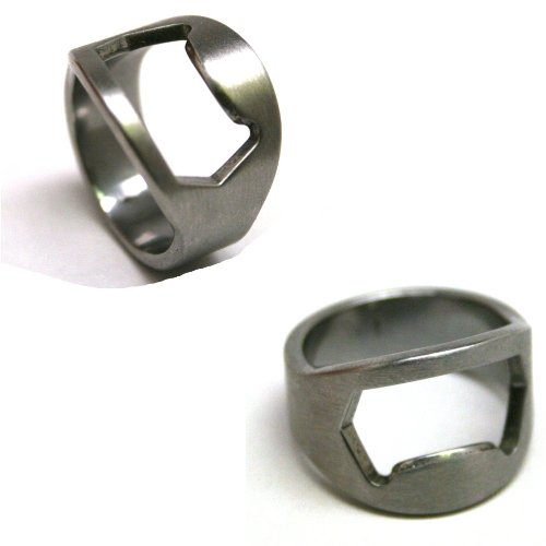 Forum Novelties 65728 Legally 21 Bottle Opener Rings  Set of 2 Picture