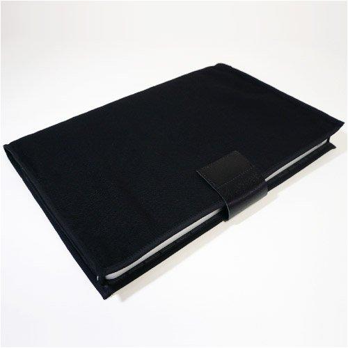 suono(スオーノ) ハンドメイド MacBook Pro 15インチ ケース:MODE(ブラック・ダークグレー)