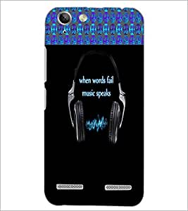 PrintDhaba Quote D-4248 Back Case Cover for LENOVO A6020a46 (Multi-Coloured)