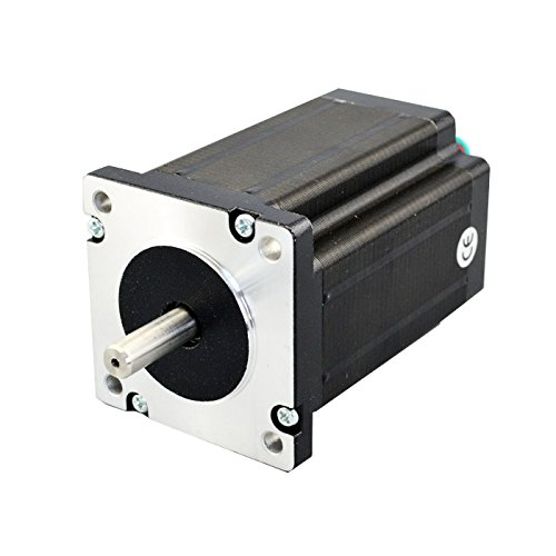 Nema 24 Dual Shaft CNC Stepper Motor 3.1Nm/439 oz.in 8 Leads Bipolar/Unipoar CNC from OSM Technology Co.,Ltd.