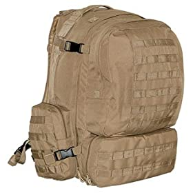 MOLLE 3 Day Military Assault Pack Backpack – Desert Tan