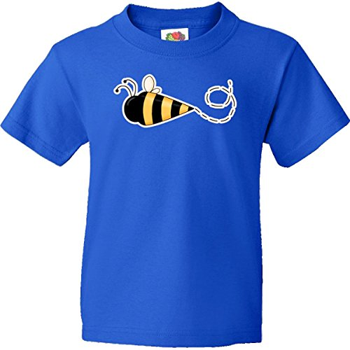 Inktastic Big Boys' Bumble Bee Youth T-Shirts Youth Xl Royal Blue back-948024