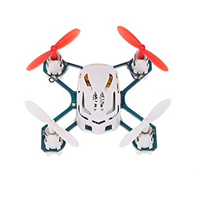 Hubsan Original Hubsan NANO Q4 H111 4-CH 2.4GHz Mini RC Quadcopter RTF UFO Drone with 6-axis Gyro/LED Light and USB Charging Cable