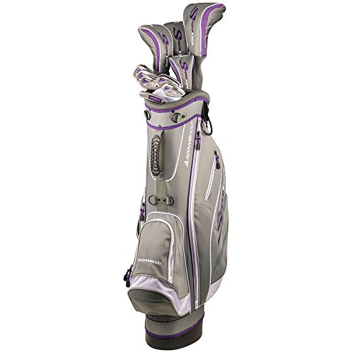 Adams Golf Speedline Steel Uniflex Set, Right Hand, Gray/Purple