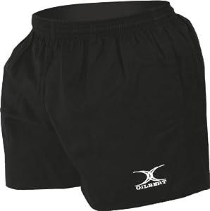 Gilbert Men's Gilbert Kiwi Shorts - Black, 40 Inch