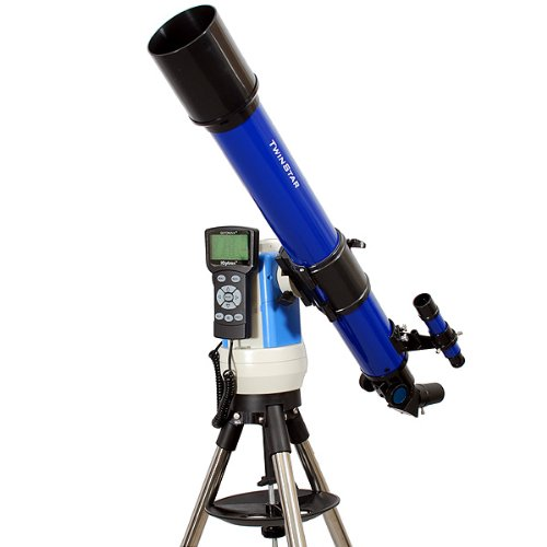 Twinstar Blue 70Mm Ioptron Computer Controlled Refractor Telescope