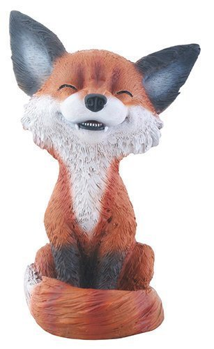 brown-and-black-smiling-fox-teehee-themed-decorative-figurine-statue