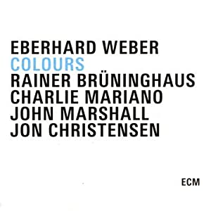 Eberhard Weber Colours cover