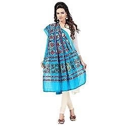 Banjara WomenS Cotton Stoles & Dupattas Kutchi Bharchak (Vip13 _Magenta Violet _Handicraft Dupatta_Free Size)