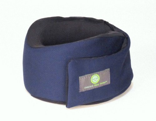 Embrace Sleep Collar Travel Pillow Navy front-592054