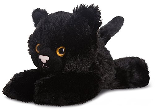 Flopsies Plüschtier schwarze Katze, Kuscheltier