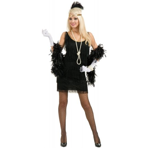 Fashion Flapper Costume - Medium - Dress Size 8-10