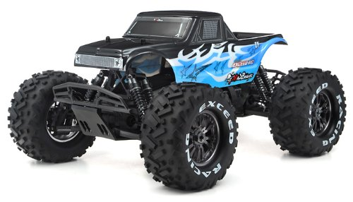 1/8Th EP Mad Beast Monster Truck Racing Edition Almost Ready to Run ARTR w/ 540L Brushless Motor/ ESC/ Lipo Battery (Blue)