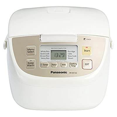 Panasonic SRDE103 10-Cup Rice Cooker / Steamer from D and H Distributing Co