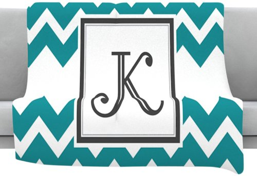 Monogrammed Fleece Throws