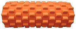 SAHNI SPORTS Foam Rumble Roller, 33 cm, Orange