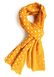 Wool Scarf Womens Kashmiri Pashmina Scarf(WS003_Yellow)
