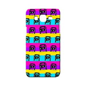 BLUEDIO Designer 3D Printed Back case cover for Samsung Galaxy A7 - G2014