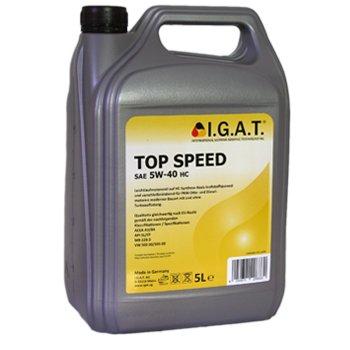 5 Liter SAE 5W-40 HC – I.G.A.T. Top Speed – HC-Synthese-Motoröl