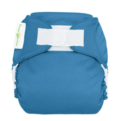 Freetime (Velcro) Aio Diaper With Stay Dry Liner - Moonbeam