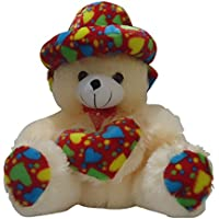 Taringo24h Heart & Cap Cream Teddy Bear 12 Inch