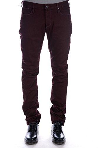 Jeans uomo Armani Jeans bordeaux slim 6X6J06-6D05Z 0494