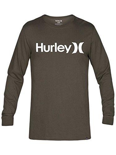 Hurley -  Maglia a manica lunga  - Uomo cargo khaki L
