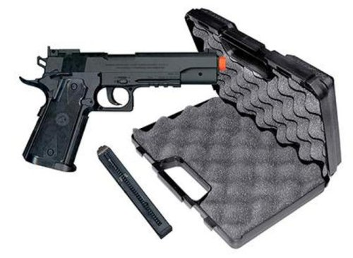 TSD Sports SDGP304BH CO2 Gas Powered Non-Blowback Airsoft Pistol with Case